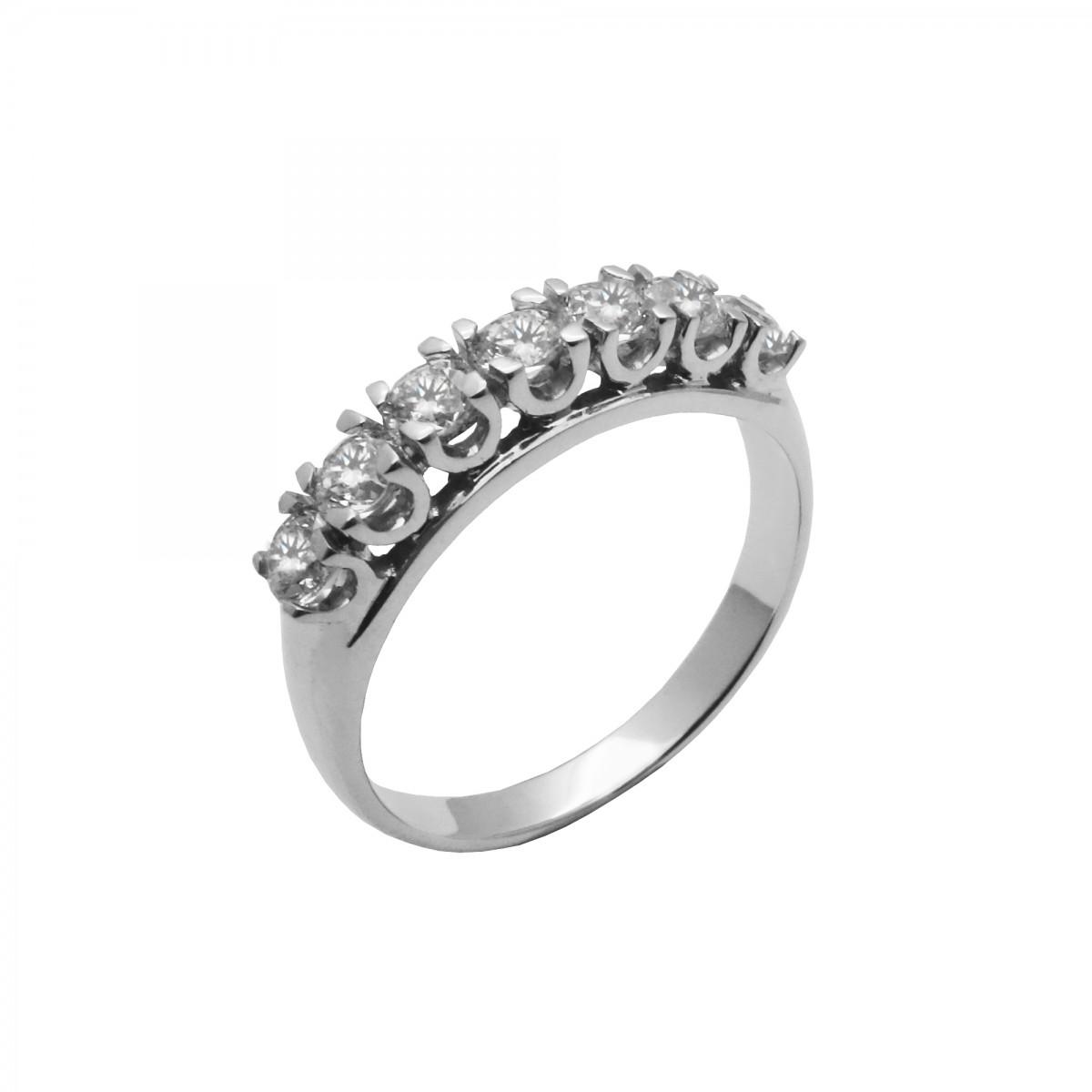 Δαχτυλίδι γυναικείο λευκόχρυσο 14 καράτια - 170€ dbed76b9361