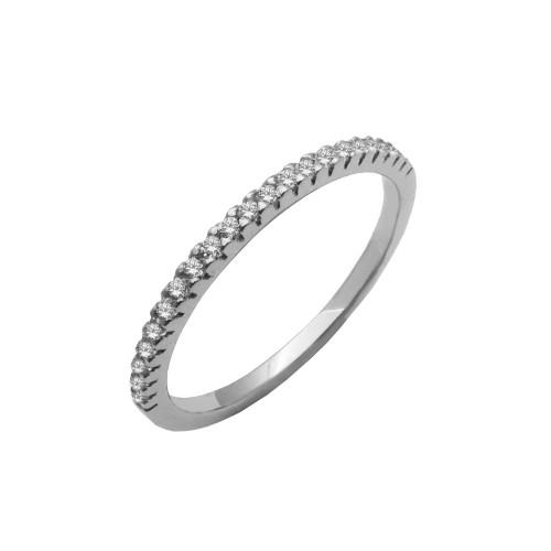 Δαχτυλίδι γυναικείο λευκόχρυσο 14 καράτια f631d468dd4