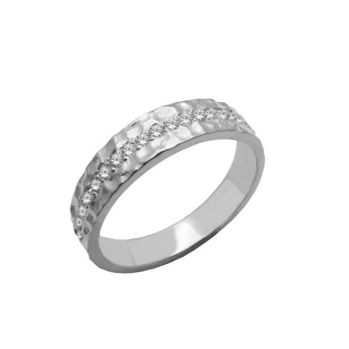 Δαχτυλίδι γυναικείο λευκόχρυσο 14 καράτια ab0b30cfbb0