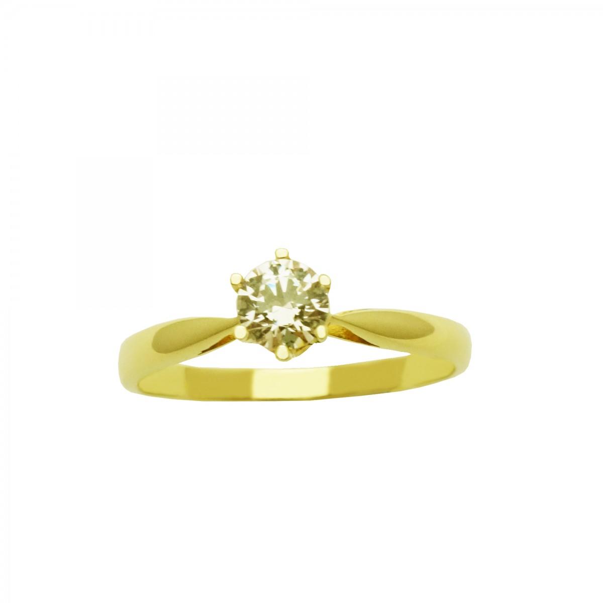 Μονόπετρο δαχτυλίδι χρυσό 18 καράτια με διαμάντι Μονόπετρο δαχτυλίδι χρυσό  18 καράτια με διαμάντι 93826561b52