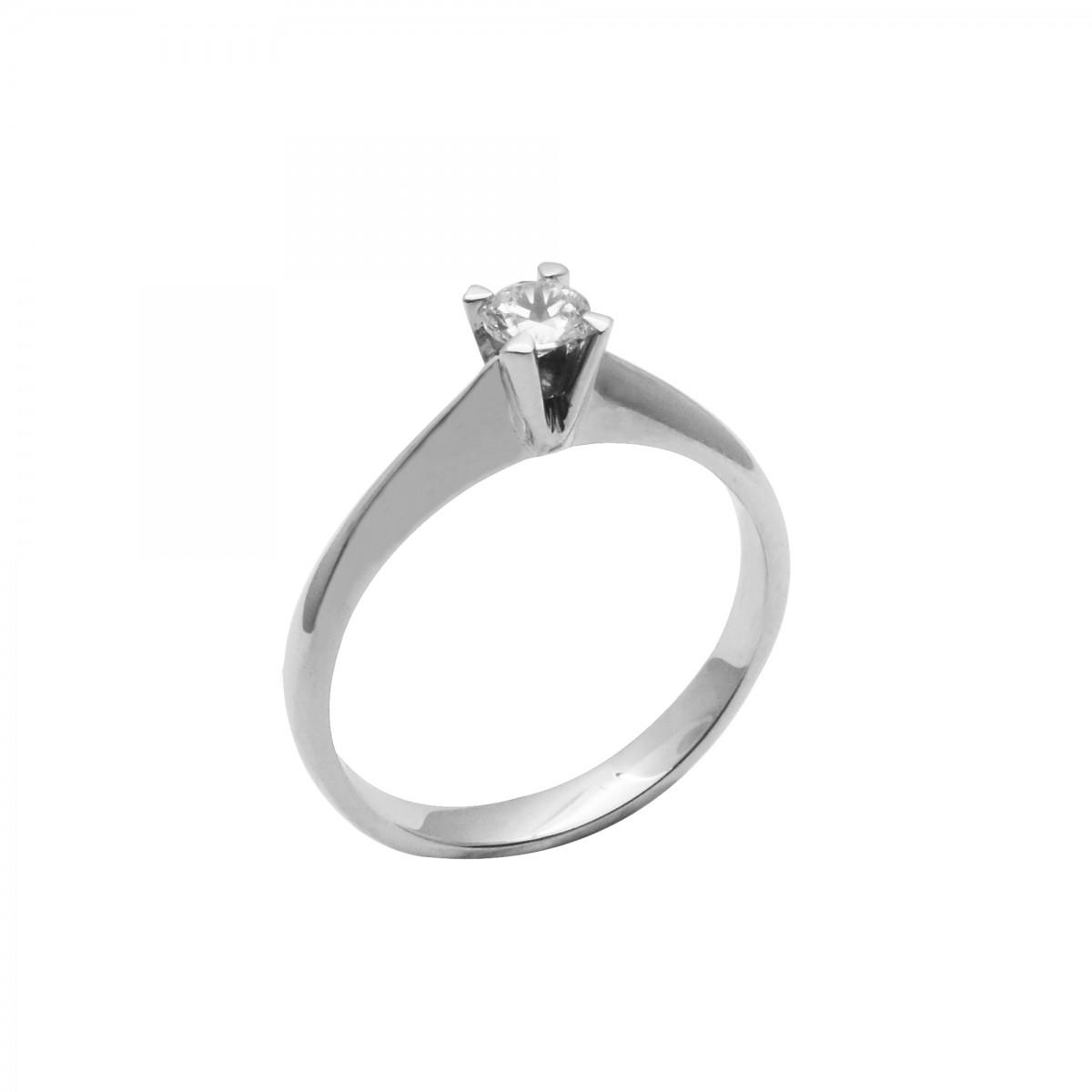 Μονόπετρο δαχτυλίδι λευκόχρυσο 14 καράτια με ζιργκόν - 174€ 3d6892eb38a